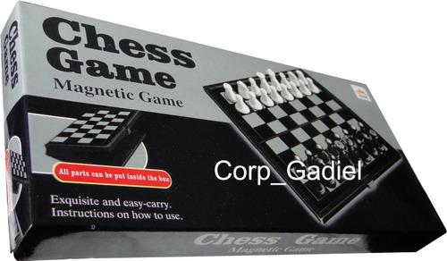 ajedrez, ludo o damas chinas magneticos. regalo. regalar.