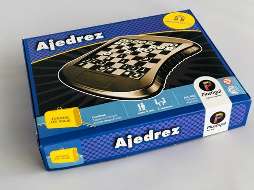 ajedrez magentico - juegos de viajes plastigal