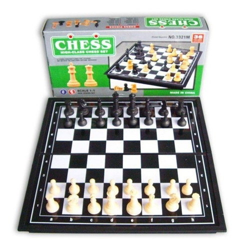 ajedrez magnetico brain chess 19cm