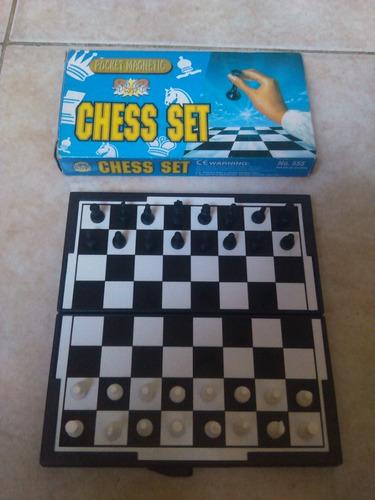 ajedrez magnetico chess set nuevo