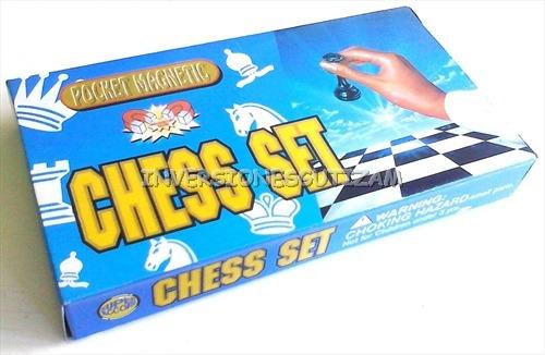 ajedrez magnetico pequeño 13x13cm damas chinas chess set