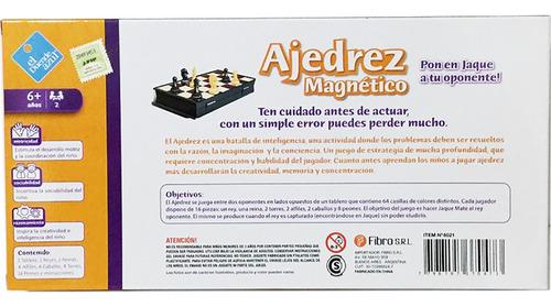 ajedrez magnetico tab 30x30 cm el duende azul 6021 bigshop