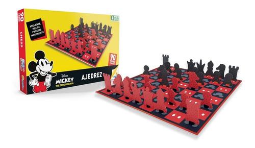 ajedrez mickey 90 años