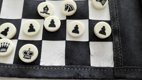 ajedrez para viaje enrollable