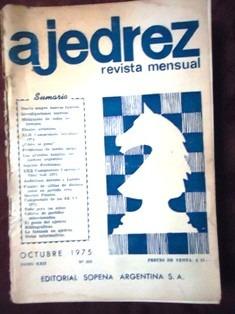 ajedrez - revista mensual nº 258 - octubre 1975