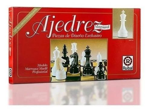 ajedrez ruibal magistral juego de mesa profesional marfil
