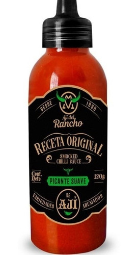 aji del rancho - salsa picante - unidad a $12333