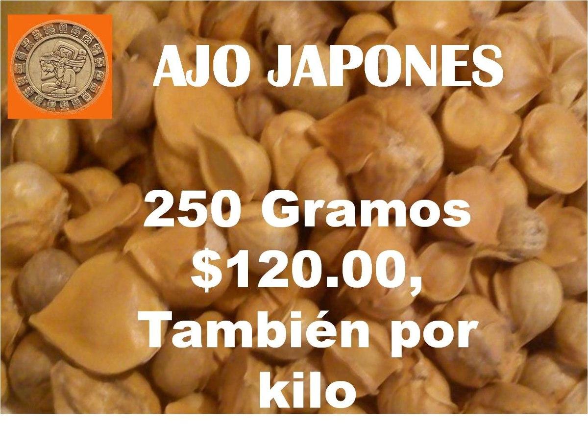 Ajo Japones 250 Gramos 12000 12000 En Mercado Libre