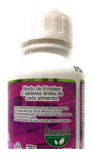 ajo rey con ortiga liasofi 500 mg 200 tab envio full