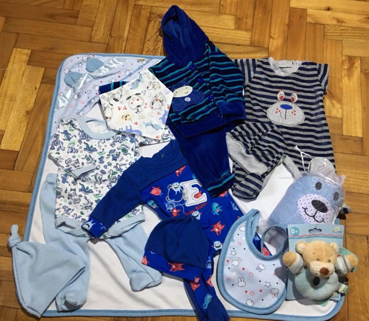 Ajuar Bebe Caja Personalizada Regalo Nacimiento Baby Shower ... d75e534f6955