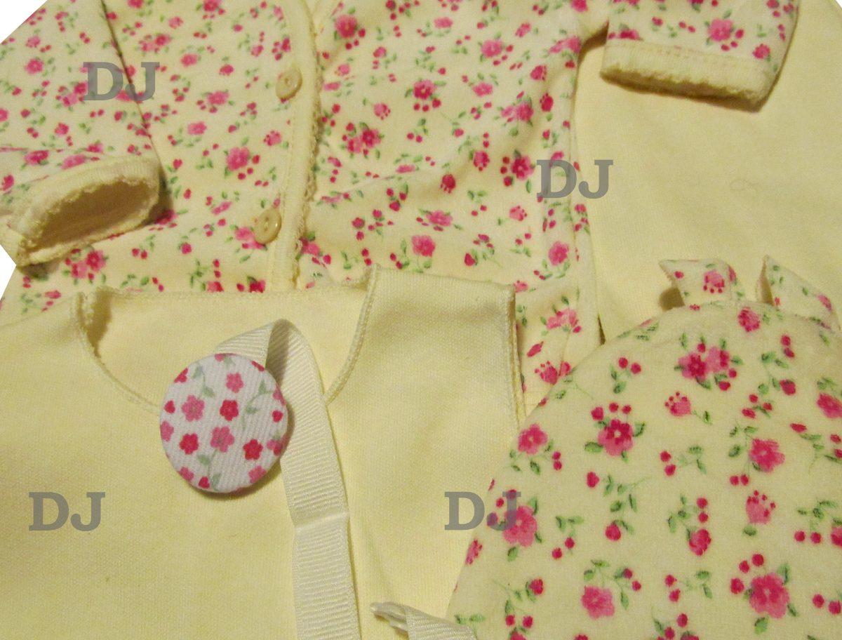 Ajuar Bebe Plush Y Algodon 6 Piezas Caja Set Nacimiento -   699 7d10ead2701c