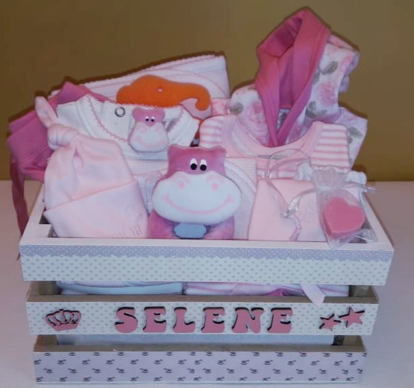 08726a3b2 Ajuar Bebe Regalo Ideal Baby Shower Cajoncito Personalizado ...