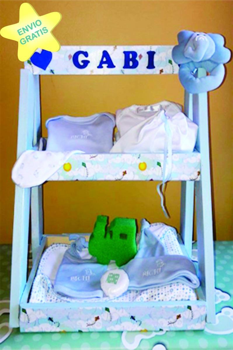 Ajuar Nacimiento Bebe Regalo Baby Shower   Personalizada   -   1.680 ... b0e7bf70240