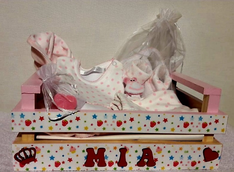 Ajuar Nacimiento Regalo Bebe Baby Shower Personalizado -   1.930 e98f28a92fc