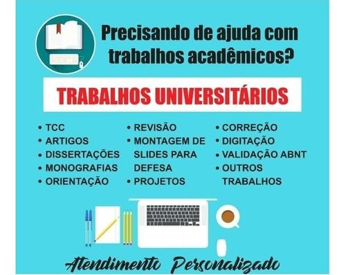 ajudo com trabalhos academicos
