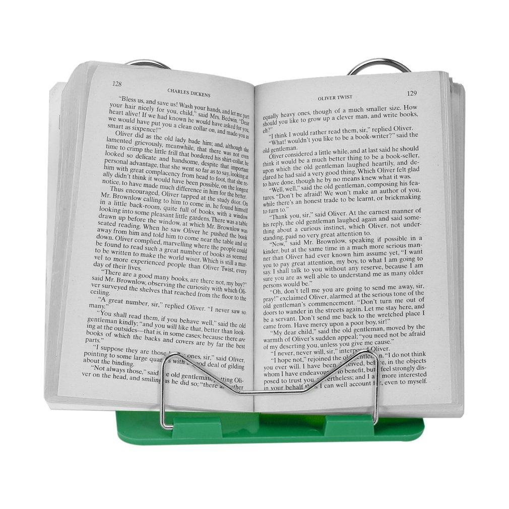 Ajustável Ângulo Dobrável Portátil Leitura Livro Suporte Doc
