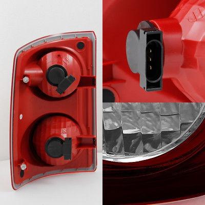 Pro Braking PBR1102-SIL-RED Rear Braided Brake Line Silver Hose /& Stainless Red Banjos