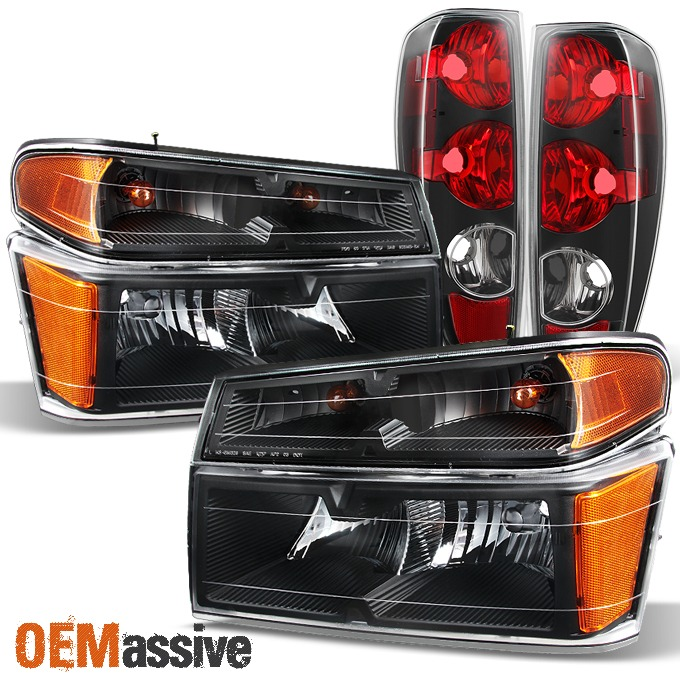NEW TAIL LAMP LENS AND HOUSING FITS 2004-2012 CHEVROLET COLORADO RIGHT GM2801164