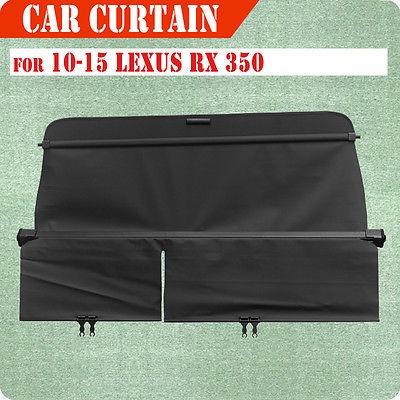 ajuste de 10-15 lexus rx 350 carga cubierta retráctil traser