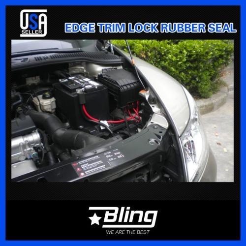 Universal ajuste del borde de goma de puerta de coche grande Sello-Van Barco Caravan-Bonnet Boot