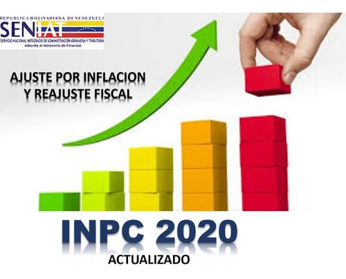 ajuste por inflación y reajuste f 2019
