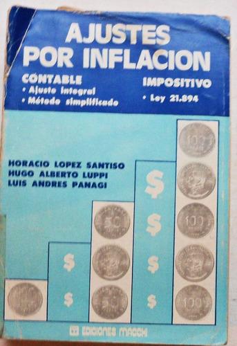 ajustes por inflación / lopez santiso - luppi - panagi