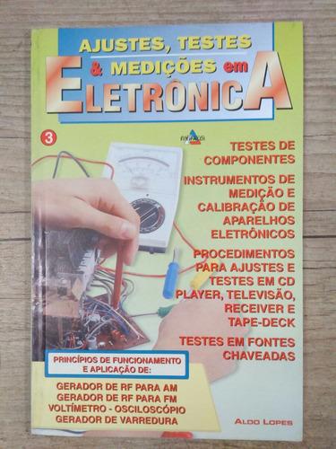 ajustes, testes e medições em eletrônica ed.fittipaldi