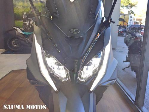 ak 550 kymco sauma motos scooter moto