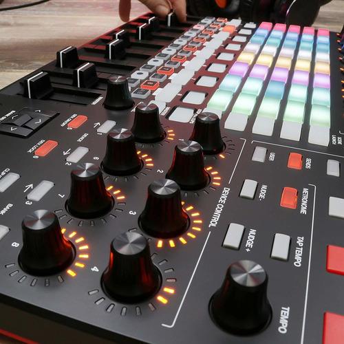 akai apc 40 mkii controlador midi usb dj ableton live mk2
