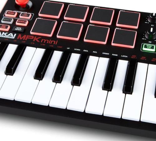 akai mpk mini mk2 usb drumpad joystick entrega inmediata