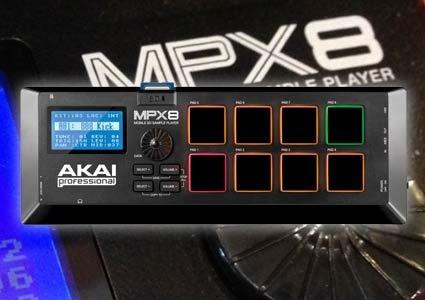akai mpx8 nuevo sampler pad para memorias sd controlador usb
