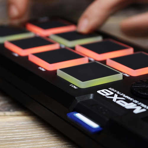 akai mpx8 sampler pad controlador usb *envio gratis