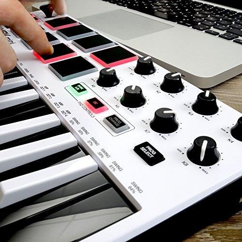 akai profesional mpk mini mkii le teclado midi portátil usb