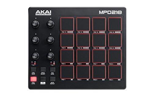 akai professional mpd218 | controlador pad de b envío gratis
