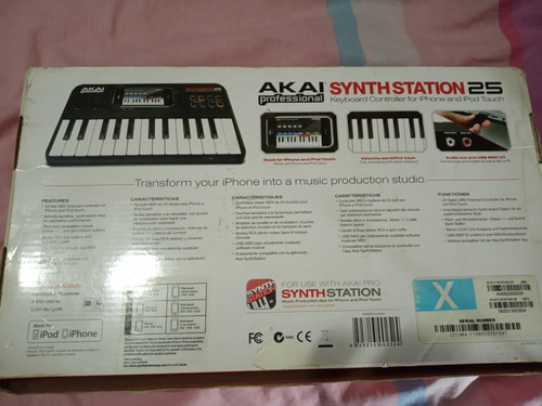 akai synth station