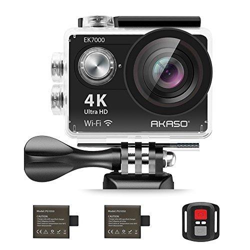 akaso ek7000 4k acción de la cámara wifi ultra hd impermea