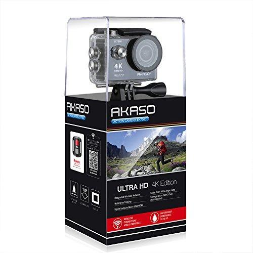 akaso ek7000 4k cámara de acción deportes wifi ultra hd
