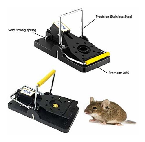 akchy la mejor trampa para ratones: las trampas