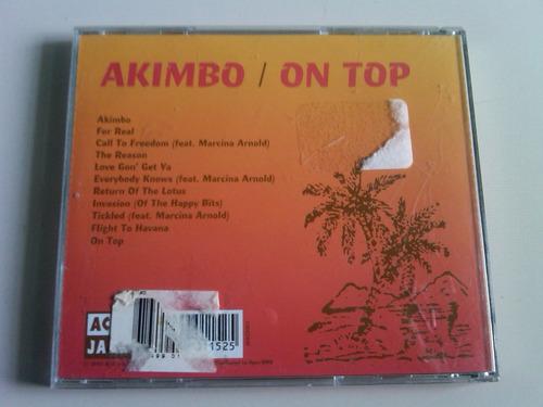 akimbo on top cd usado importado usa new heavies jamiroquai