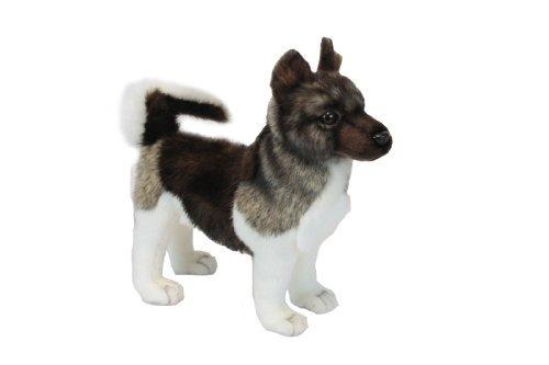 akita puppy plush soft toy de hansa. 28cm. 6143 por hansa