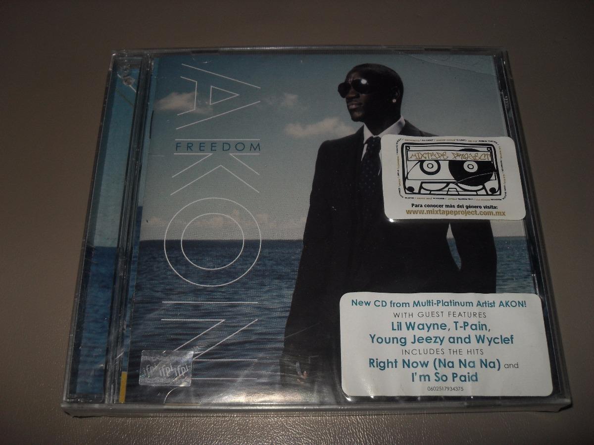 Akon Freedom Cd Nuevo Sellado Cargando Zoom
