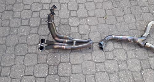 akrapovic titanium completo r1 2011