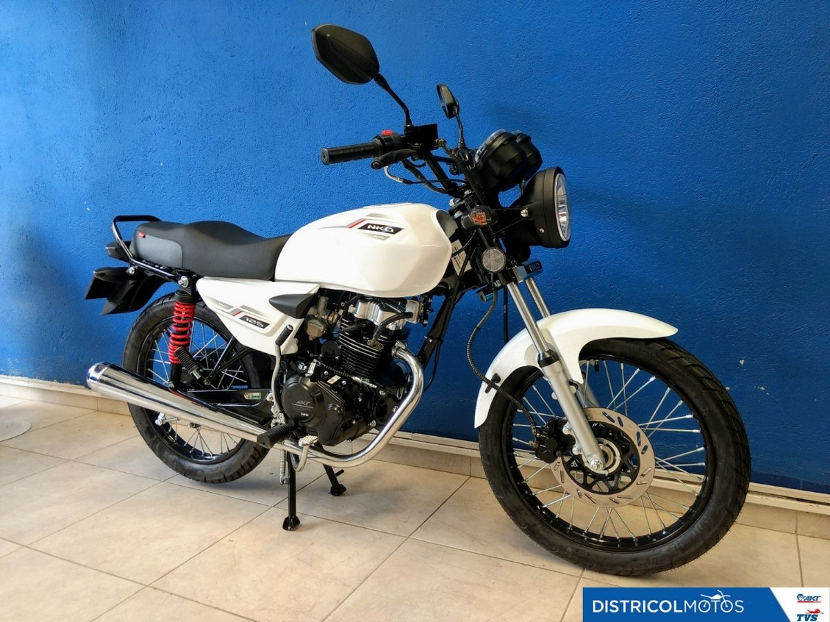 Akt Nkd 125, Modelo 2020, Nueva Para Estrenar! - $ 2.990
