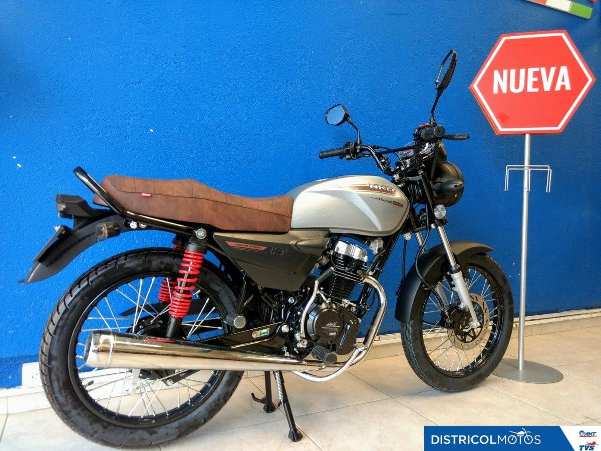 Akt Nkd 125 Metal, Modelo 2020, Nueva Para Estrenar. - $ 3