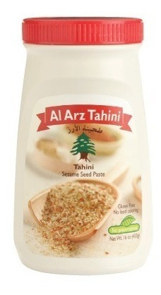 al arz tahini clasico 453 gr superfood, caja de 12