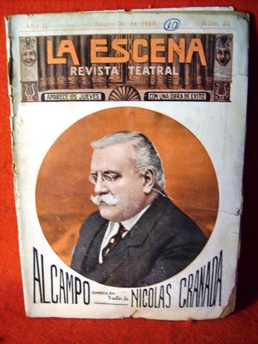 al campo nicolas granada la escena nacional revista año 1919