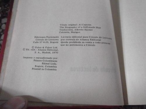 al capone f. d. pasley tapa dura biografia