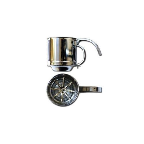 al-de-chef sifter de harina - capacidad 1 cup + envio gratis