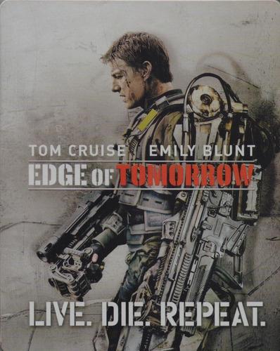 al filo del mañana pelicula steelbook blu-ray + dvd + dig