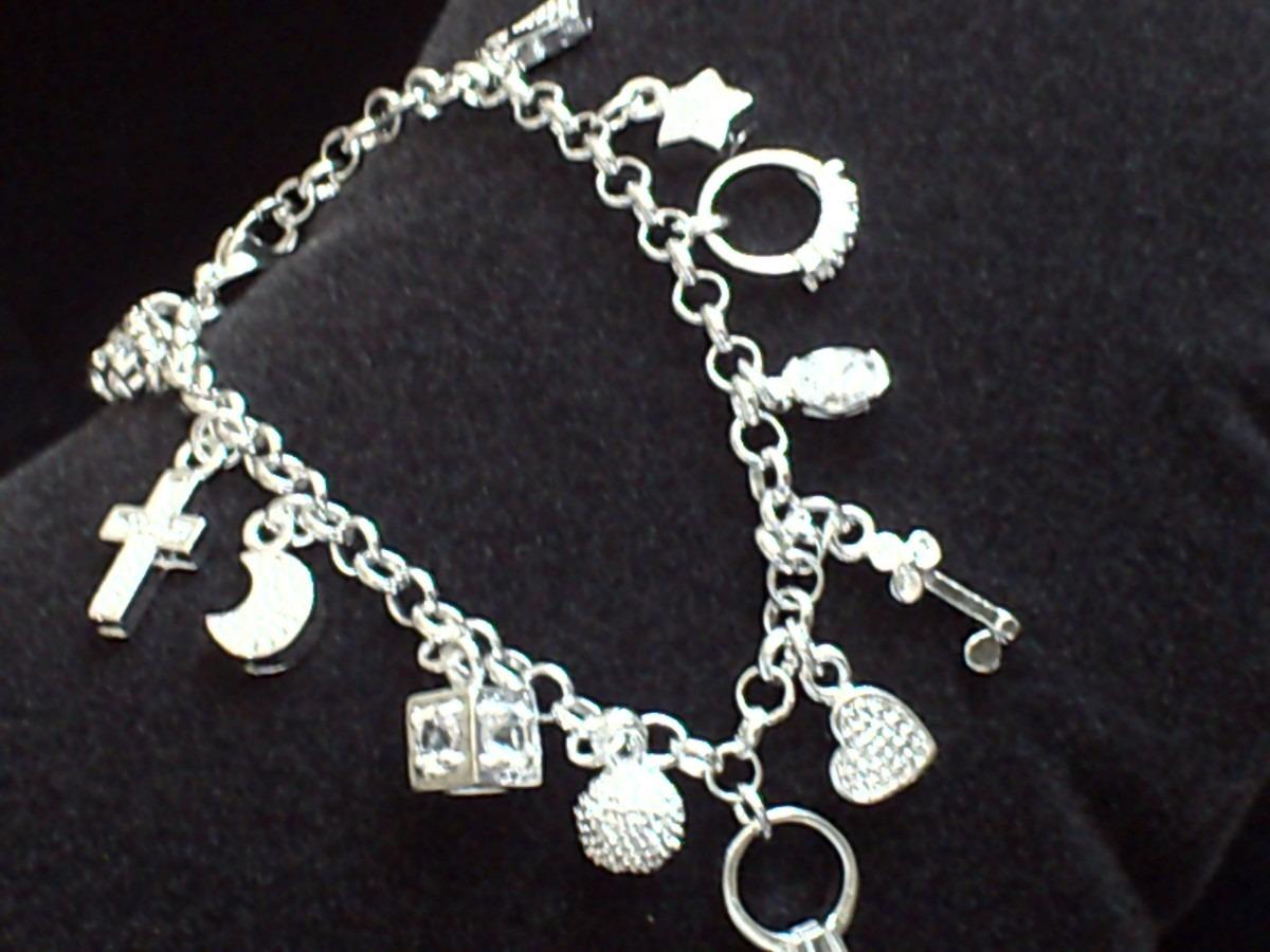 Al mejor precio pulsera de dijes acabado plata envio gratis en mercado libre - Cuberterias de plata precios ...